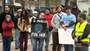 Halifax science supporters gathered downtown for 'March for Science'