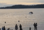 Video captures pod of orcas hunting off Bowen Island