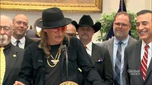 Kid Rock says 'whole lot of people' give Trump credit for his work