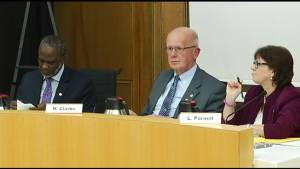 Councillor Henry Clarke calls out colleagues for unparliamentary language as city discusses code of conduct