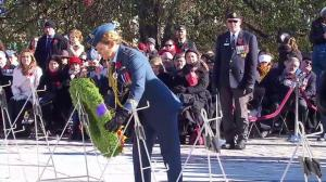 Governor General lays wreath at Tomb of the Unknown Soldier