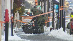 Montreal's bomb squad neutralizes suspicious package
