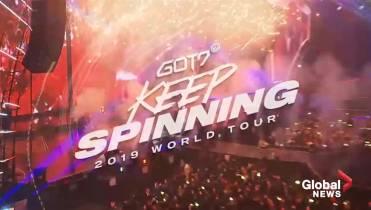 K-Pop band GOT7 announces North American tour, 1 Canadian date