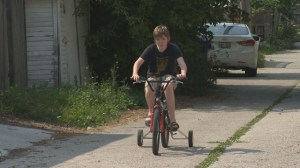 Global viewer comes to aid of autistic boy who had his bike stolen