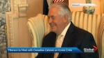 Tillerson set to meet with Freeland, other cabinet ministers
