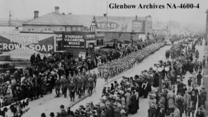 Calgary during the First World War