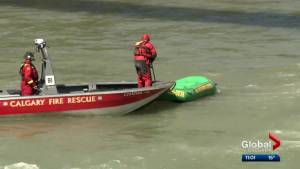 Rescue boat pulled from of service Tuesday for budget reasons: Calgary Firefighter's Association (01:33)