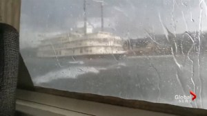 Video from duck boat that safely escaped Missouri storm shows intensity of wind, waves