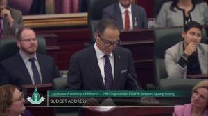 Alberta NDP had worked to stop boom-and-bust spending cycle (01:18)