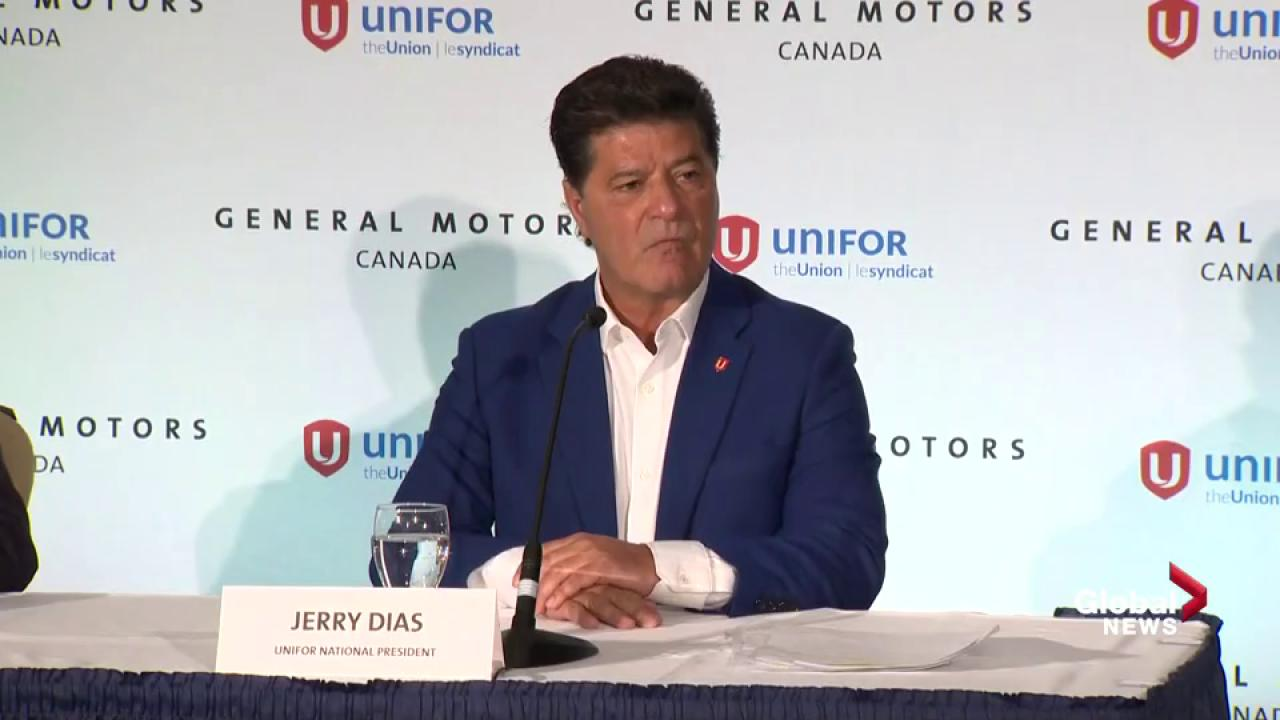 GM, Unifor make joint announcement about Oshawa, Ont., plant