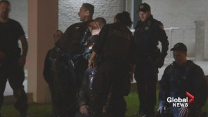 Montreal police rescue baby from fire