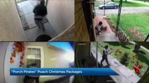 Police warn online shoppers about 'porch pirates'