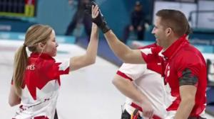 Canada claims gold in mixed doubles curling, bronze in short track