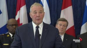 Blair comments on reports of using of legal parts to make illegal guns