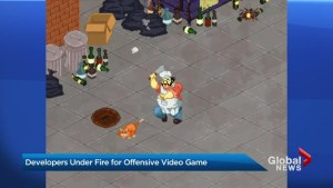 U.S. congresswoman outraged by Canadian-made video game