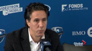 Montreal Impact on the end of their season