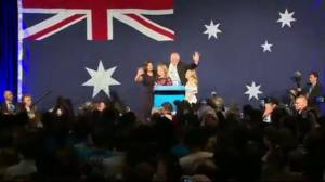 Liberal Party's Scott Morrison re-elected as Australian Prime Minister