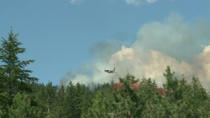 Lightning sparks wildfires across B.C. Interior
