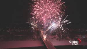 WATCH: New Year's Eve fireworks in Saskatoon