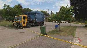 Pedestrian killed in Toronto's north end after being hit by truck