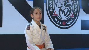 Victim of bullying becomes martial arts champ