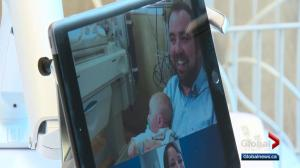 iPad chats help connect families at Misericordia NICU