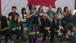 Indigenous woman asks Trudeau: 'what are you going to do for our communities?'