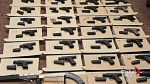 Ontario man faces 337 gun charges after fire call leads to discovery of 33 guns in home