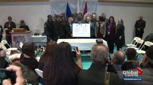 Alberta's Lubicon Lake First Nation inks historic land deal with feds, province