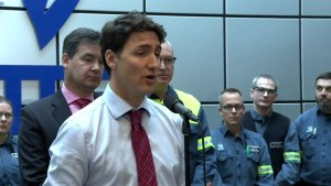 Trudeau says removal of steel and aluminum tariffs allows for ratification of CUSMA