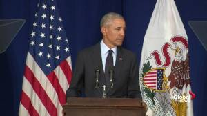 Barack Obama: 'The status quo pushes back' due to fear of change