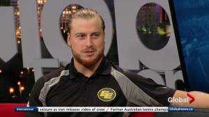 Edmonton Eskimos' Jordan Hoover on home-field advantage