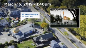 Timeline of New Zealand mosque shootings
