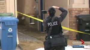 Investigators remain on scene of suspicious death in Edgemont