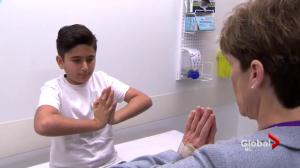 Pointe-Claire boy on his feet after groundbreaking arthritis treatment