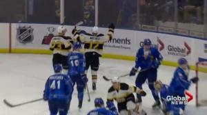 Brandon Wheat Kings double up Saskatoon Blades 4-2