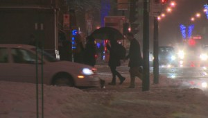 Winter storm cuts power for thousands in Quebec