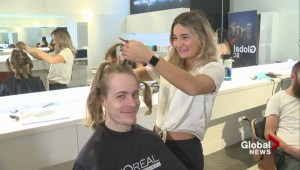 Sights and sounds of Global BC's 2nd annual hair donation day
