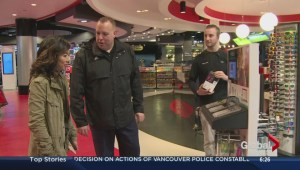 Sophie and Steve go shopping for 'Month of Giving'