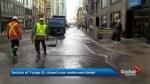 Water main break shuts down part of Yonge Street