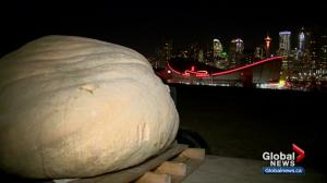 Pumpkin carver pits Alberta's biggest cities against each other in fundraising campaign
