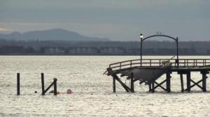 Provincial government commits funds to rebuild damaged White Rock pier