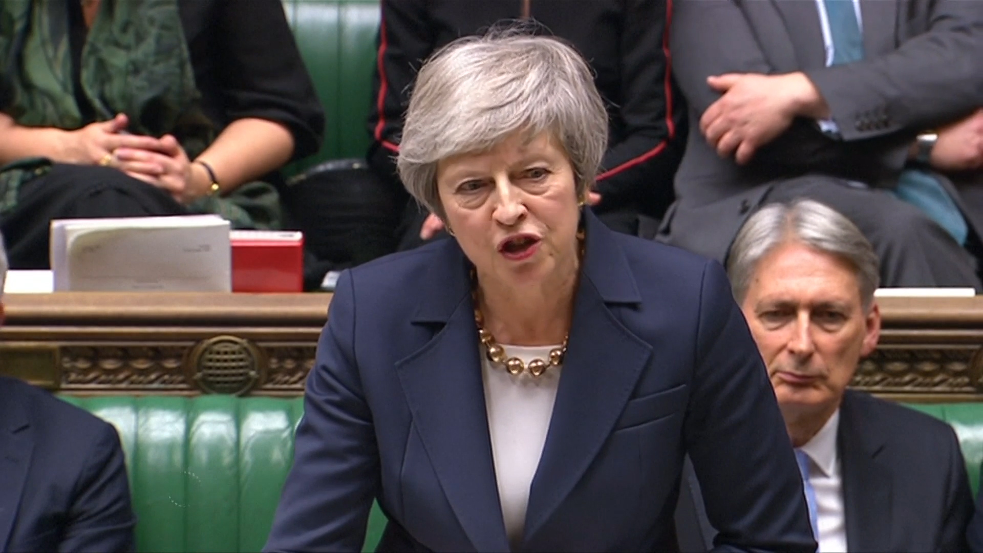 May laughed at after she confirms last-minute delay of historic Brexit vote