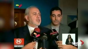 Iranian foreign minister says there is 'destabilization' wherever U.S. is present