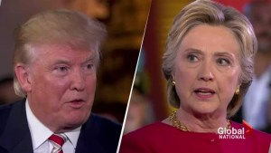 Donald Trump on the offensive after Hillary Clinton calls his supporters a 'basket of deplorables'