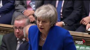 Theresa May's government wins no-confidence vote 325-306