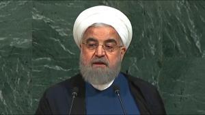 Iran's president slams U.S. President Trump in United Nations speech