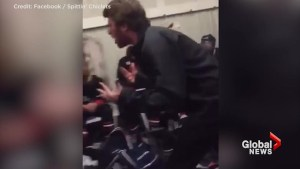 Youth hockey coach's shocking pre-game rant caught on camera