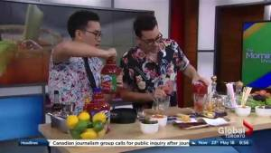 Dan Levy shows us how to celebrate Canada 150 with a Caesar