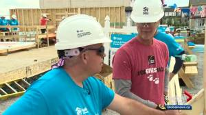Habitat for Humanity volunteers travel the world to help